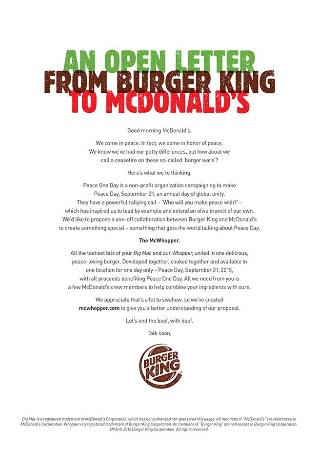 Burger King Wants to Create a 'McWhopper,' but McDonald's Isn't ...