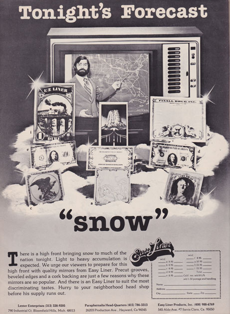 These Shameless Cocaine Ads Prove The 70s Were A Hell Of