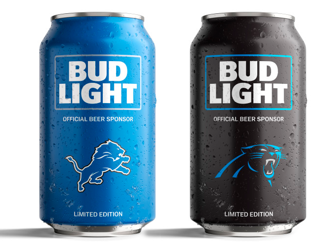 Bud Light S Popular Nfl Team Cans Are Back With A New