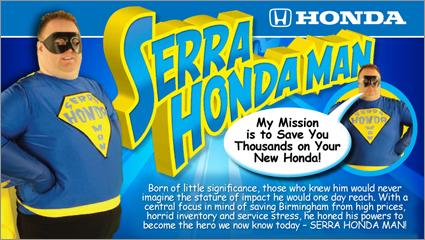 Serra-honda-man