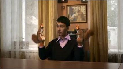 Squirrel-hands