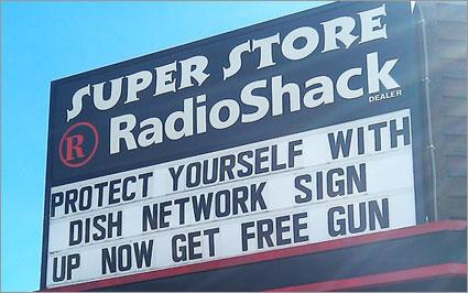 RadioShack Get a Gun
