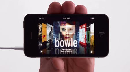 IPhone bowie screenshot