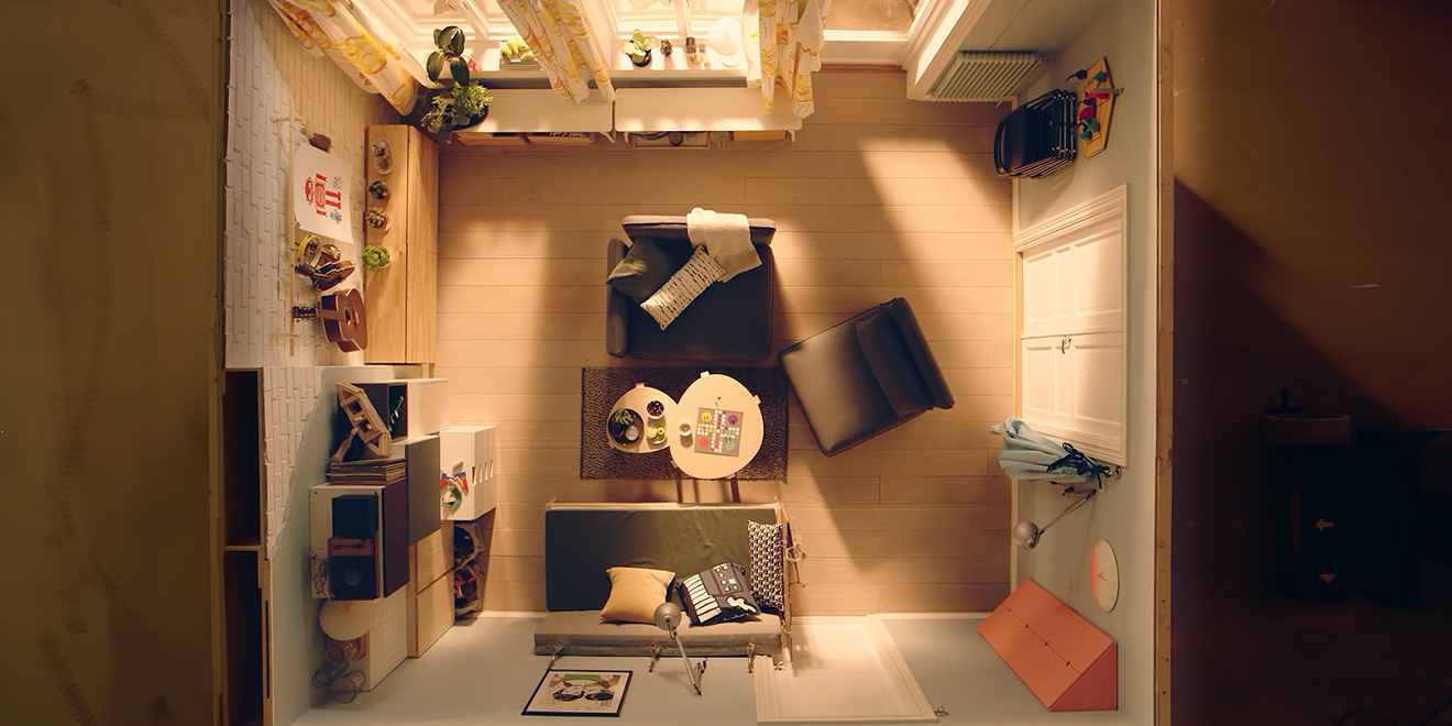 Ikea Shows You How To Furnish The Tiniest Spaces In Cute