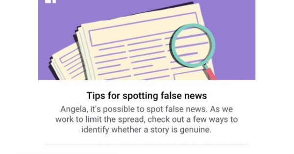 Facebook Fires Another Salvo In the Battle vs. Fake News