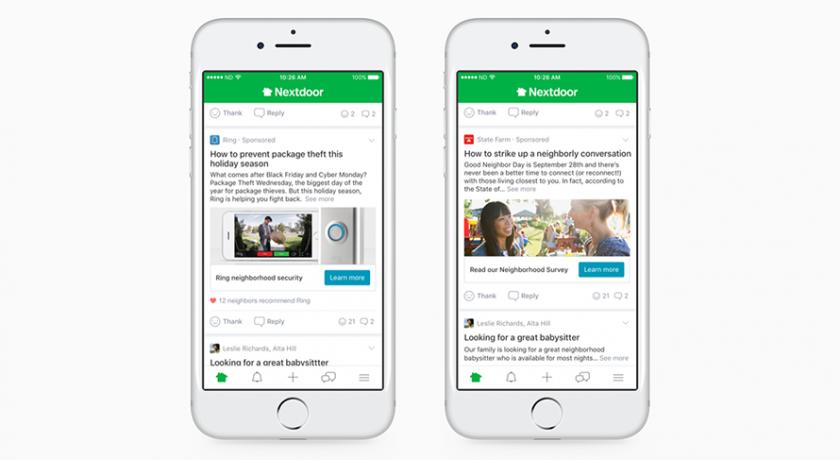 The Community Message Board Has Big Aims. Nextdoor