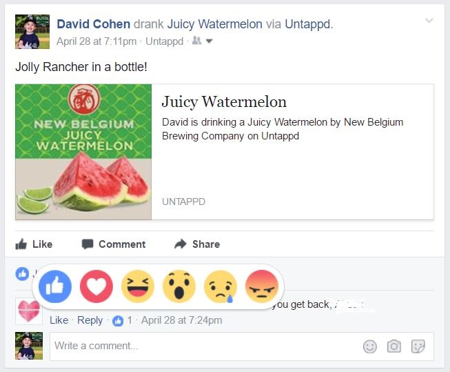 how to respond to facebook comments