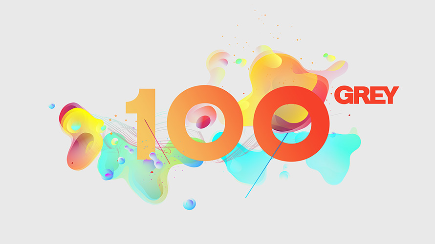 Grey made its 100th anniversary logo from its employees brain the agency scanned its employees brains and the resulting images were the basis for the logo altavistaventures Image collections