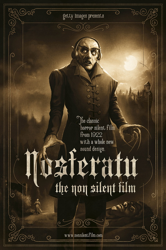 nosferatu silent film and dracula Of vampires and the great war  a silent film released in germany in march 1922  it was under these harrowing conditions that the film nosferatu was produced.