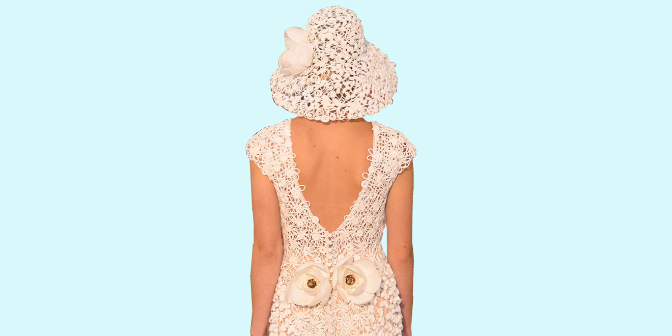Designers Made These Jaw-Dropping Toilet Paper Wedding Gowns to ...