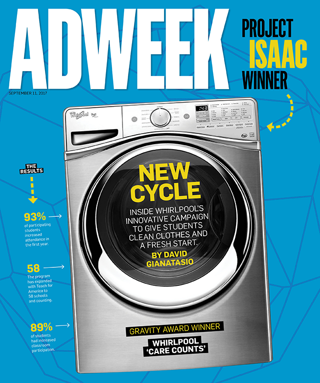Award-Winning Whirlpool Campaign Showed How Clean Clothes Can ...