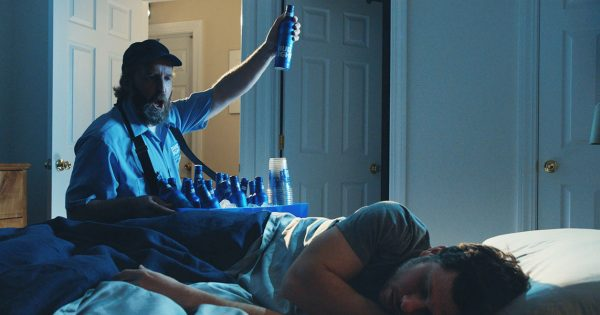 Bud light imagines how great or not it would be to have your own bud light imagines how great or not it would be to have your own personal beer vendor adweek mozeypictures Images