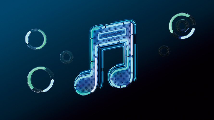 music apple note musical identity visual adweek builds gorgeous around its electronic anthem theinspiration tweet