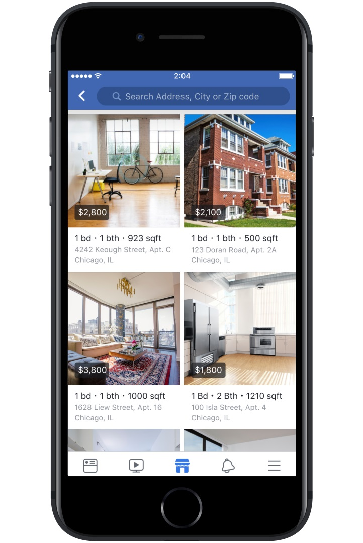 Facebook Marketplace Added Housing Rental Unit Listings ...