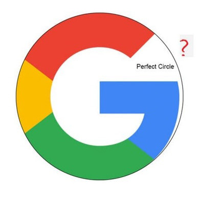 How the imperfections in googles logo are what make it perfect a user named afreakint rex then reposted the images to rgraphicdesign where the designers scoffed at the idea that google had messed this up stopboris Images
