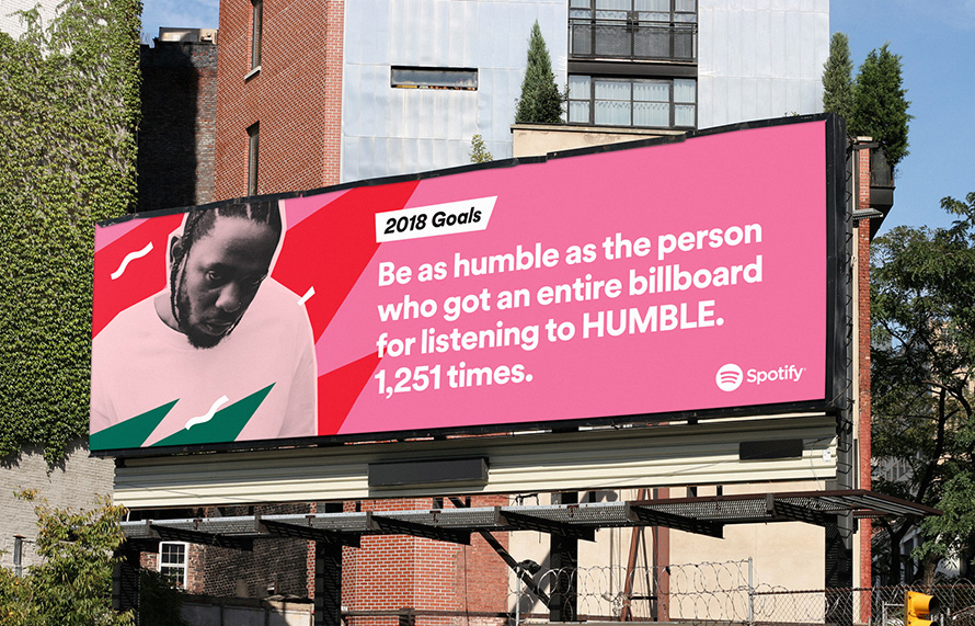 How Spotify Makes Its Data Driven Outdoor Ads And Why