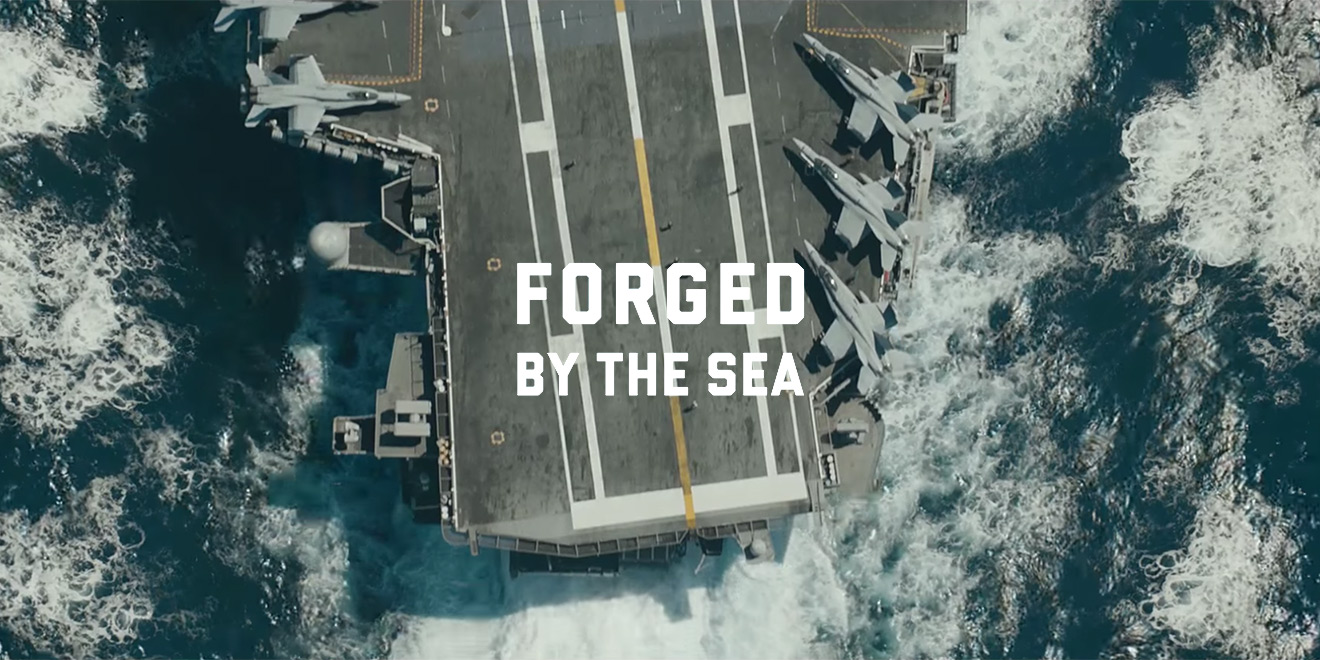 Army Navy Game >> The U.S. Navy Hopes to Reach Gen Z With Its New 'Forged by the Sea' Campaign – Adweek