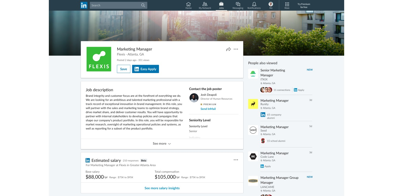 Linkedin Account Löschen linkedin users will soon what pay before applying for them