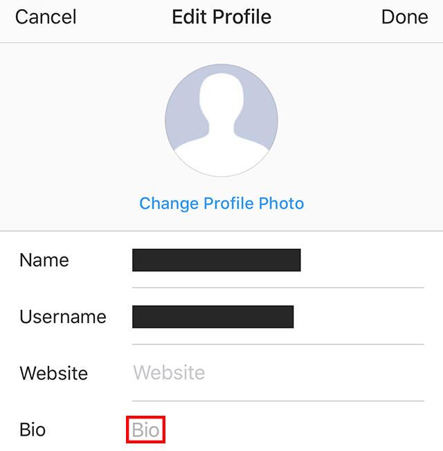 Instagram heres how to add a profile link or hashtag to your bio adding a profile link ccuart Choice Image