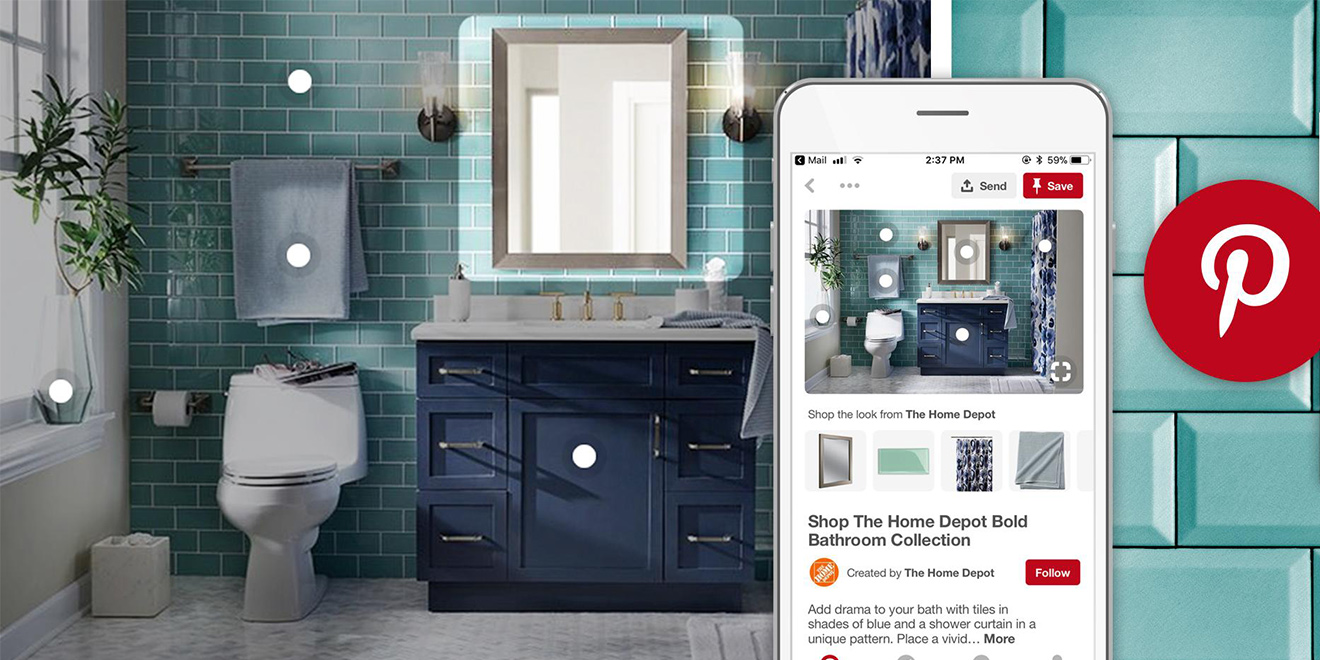 Home depot is building out visual discovery and shopping Home depot decor
