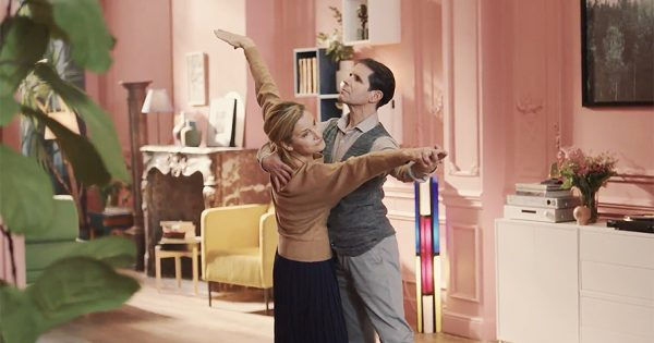 Former Figure Skaters Spin Around the Living Room in Ikea's Beautiful Tribute to Aging Gracefully