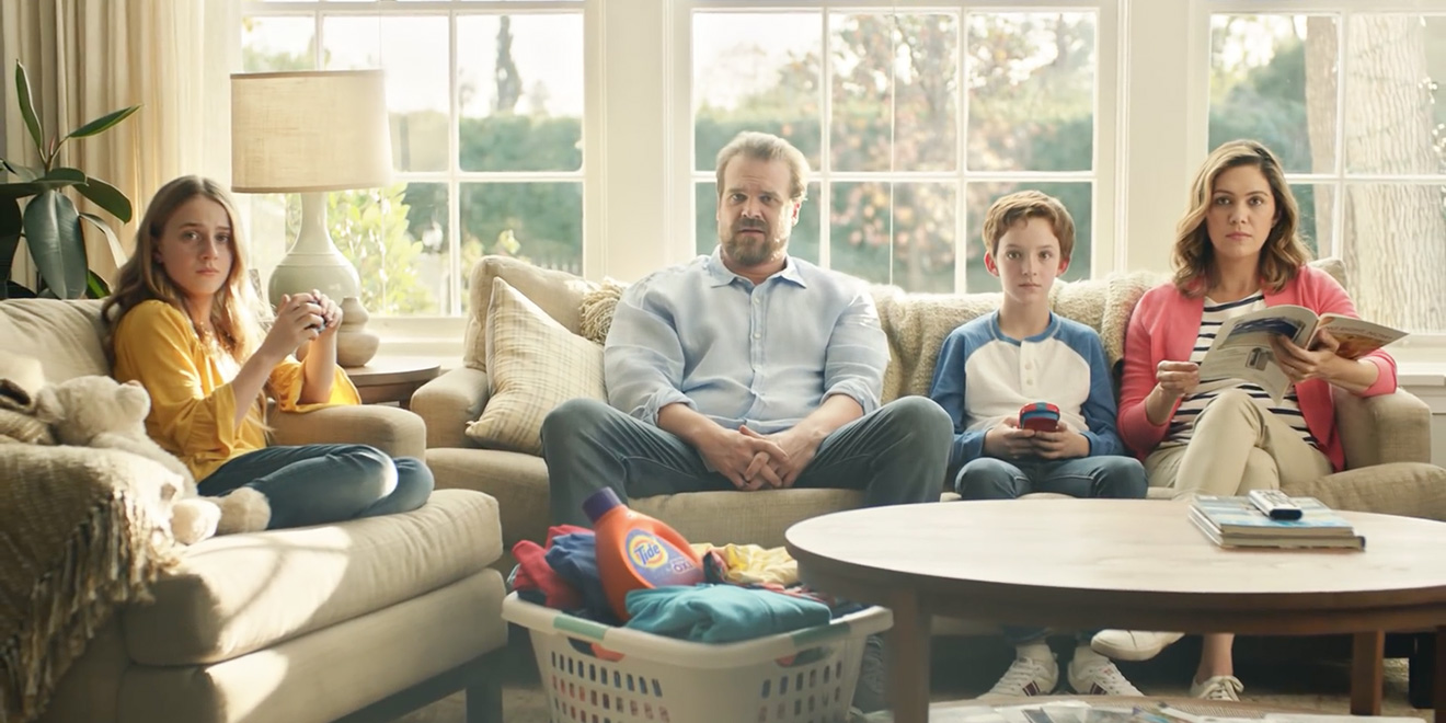 it s still a tide ad revisiting saatchi s super bowl campaign a month later adweek. Black Bedroom Furniture Sets. Home Design Ideas