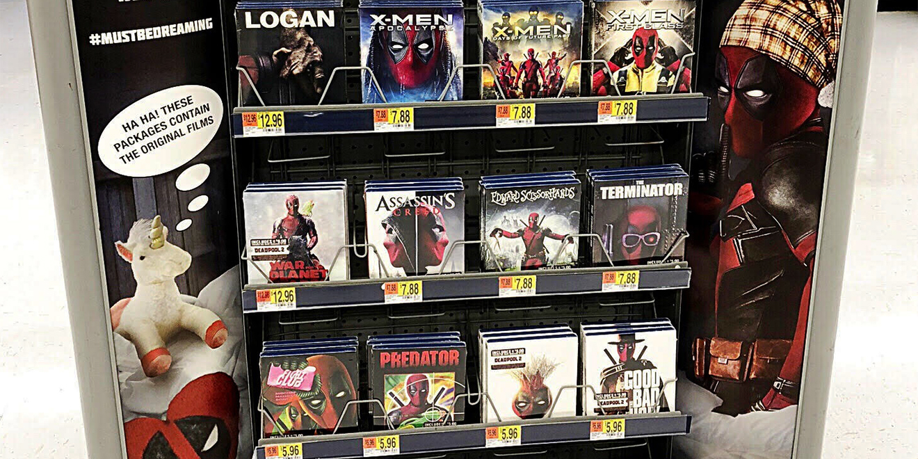 Here S The Story Behind Deadpool S Incredible Blu Ray