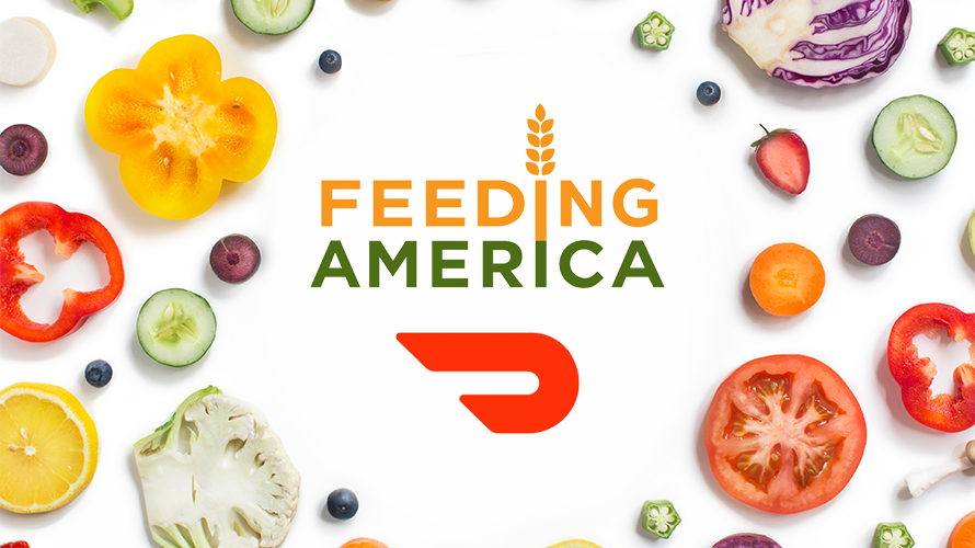 The technology company has saved over 9000 pounds  sc 1 st  Adweek & How DoorDash Is Partnering With Feeding America to Combat Food Waste ...