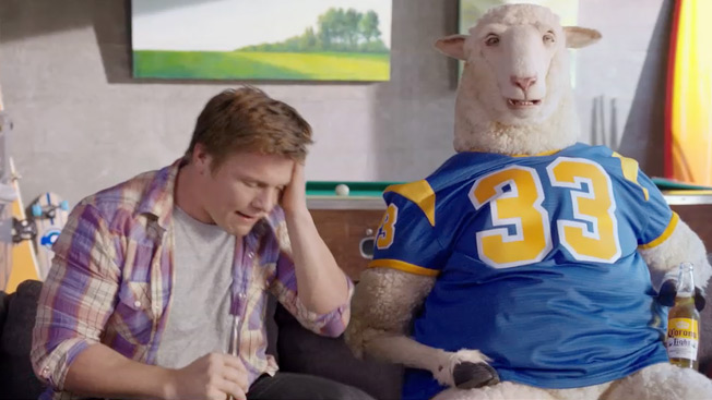 Meet sully corona lights absurd and amusing spokes sheep adweek character goes from cameo to close up aloadofball Choice Image