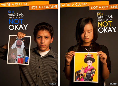 Student Ads Take Aim at Racist Halloween Costumes – Adweek