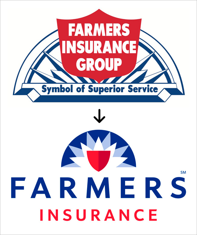 Farmers Insurance Freshens Its Logo, Keeping Sunrise And