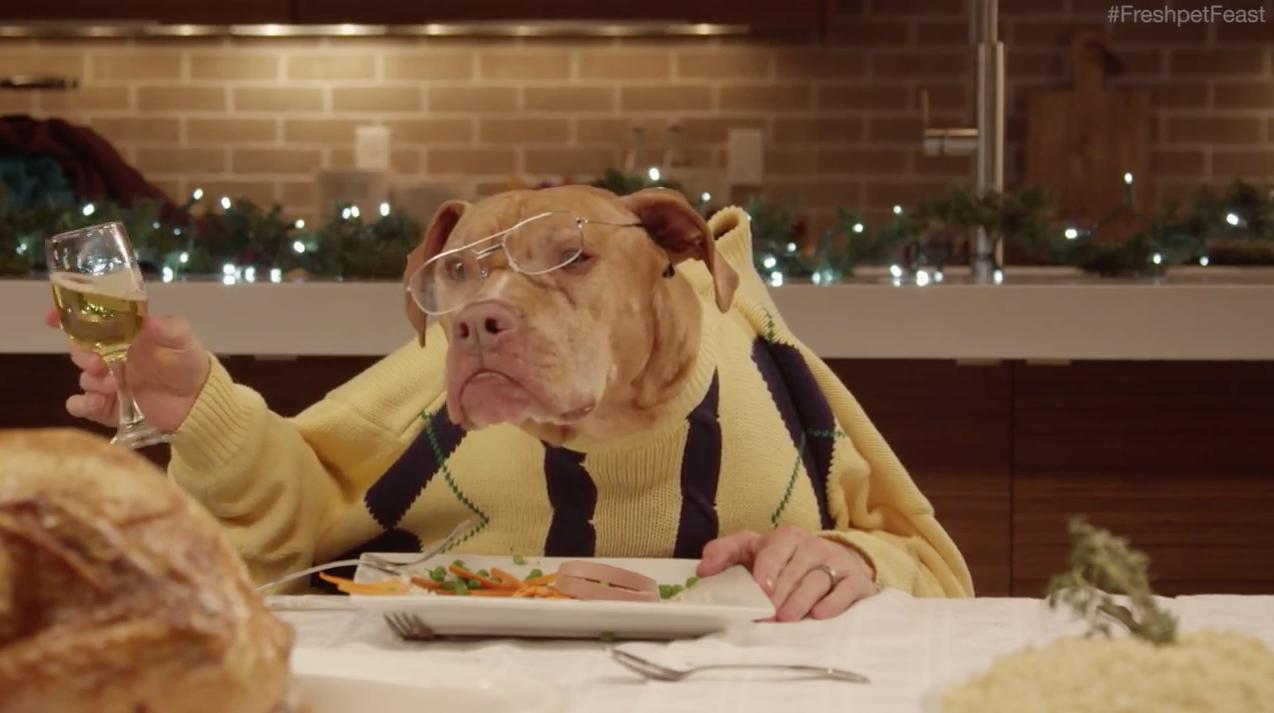 Dead Dog Eating Human