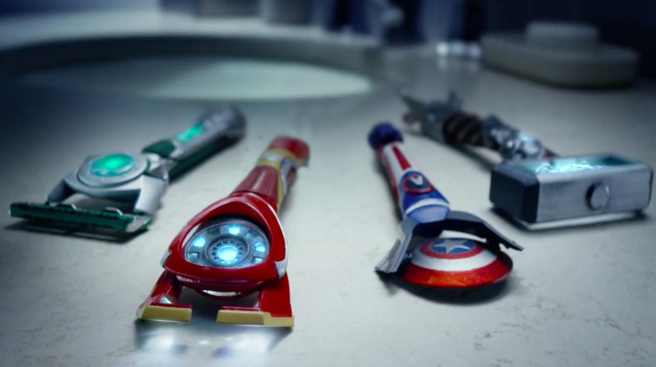 Gillette Innovation Explodes With Iron Man, Hulk, Captain ...