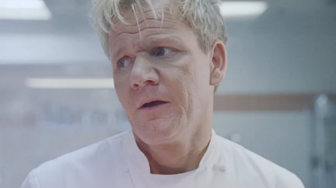 gordon ramsay unimpressed by naked man in specsavers ad adweek sometimes a sauna isn t just a sauna