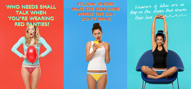 ladies, hanes wants to know the color of your panties – adweek