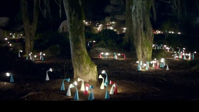Retailer goes inside out & Ikea Lights Up a Forest in Gorgeous Ad Celebrating Move to Energy ... azcodes.com