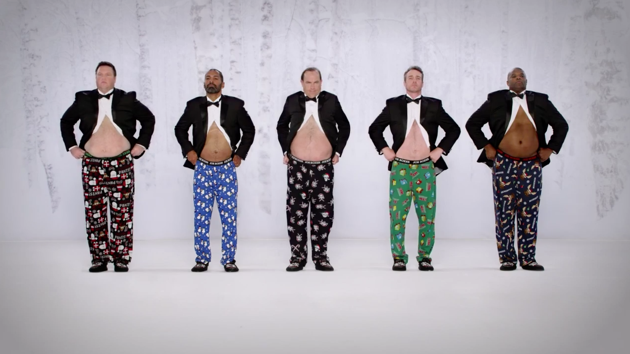 Kmart and Joe Boxer Go for Belly Laughs in Holiday Sequel to ...