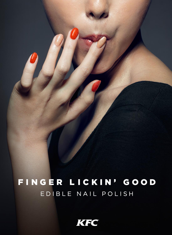 KFC Just Made Edible \'Finger Lickin\' Good\' Nail Polish That, Yeah ...
