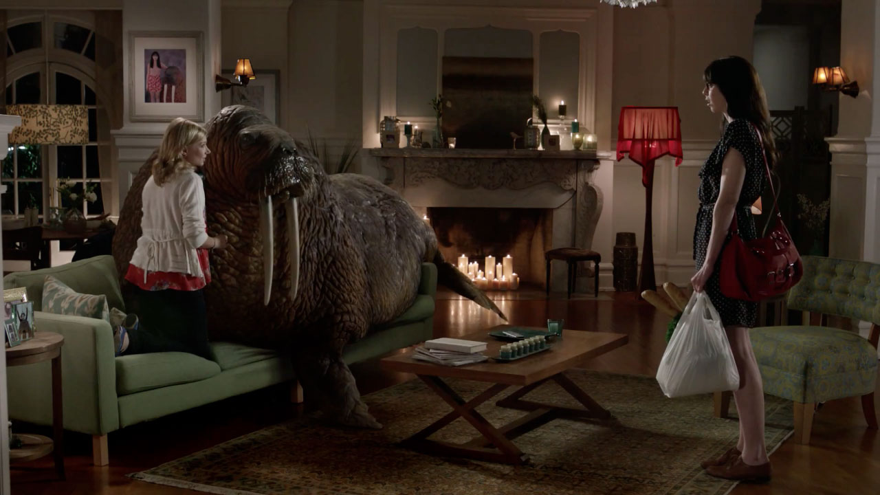 makes out with a walrus in latest crazy skittles ad u2013 adweek