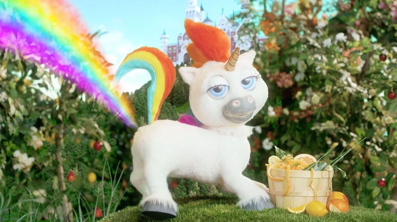 squatty potty u0027s pooping unicorn is back with a hilarious