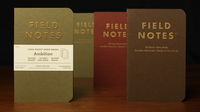 How Field Notes Made 48Page Notebooks Worthy of Collectors Adweek – Field Note