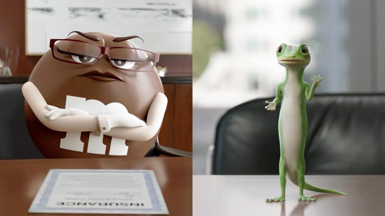 Geico Commercial Insurance >> Ad of the Day: M&M's, Geico Combine for a Delicious Ad Mashup – Adweek