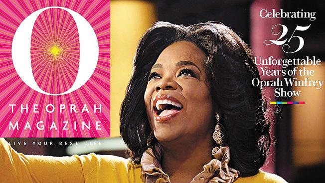 O, the Oprah Magazine June cover
