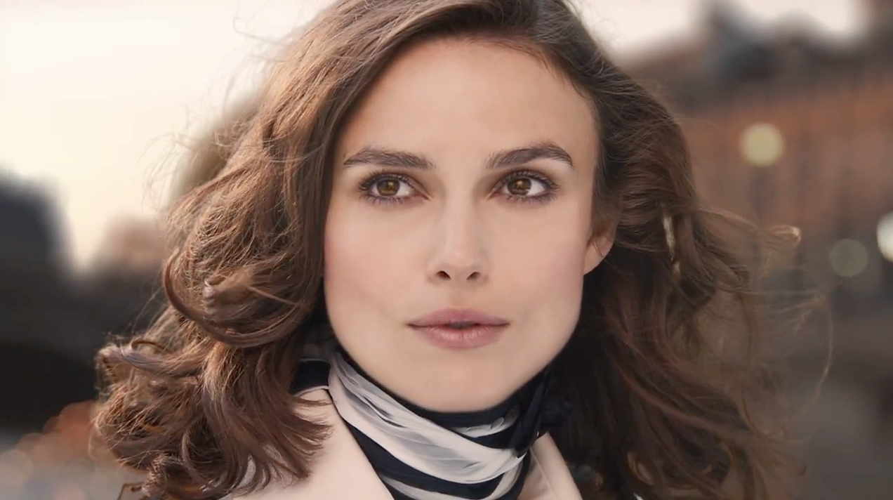 ad of the day keira knightley does her best bond girl