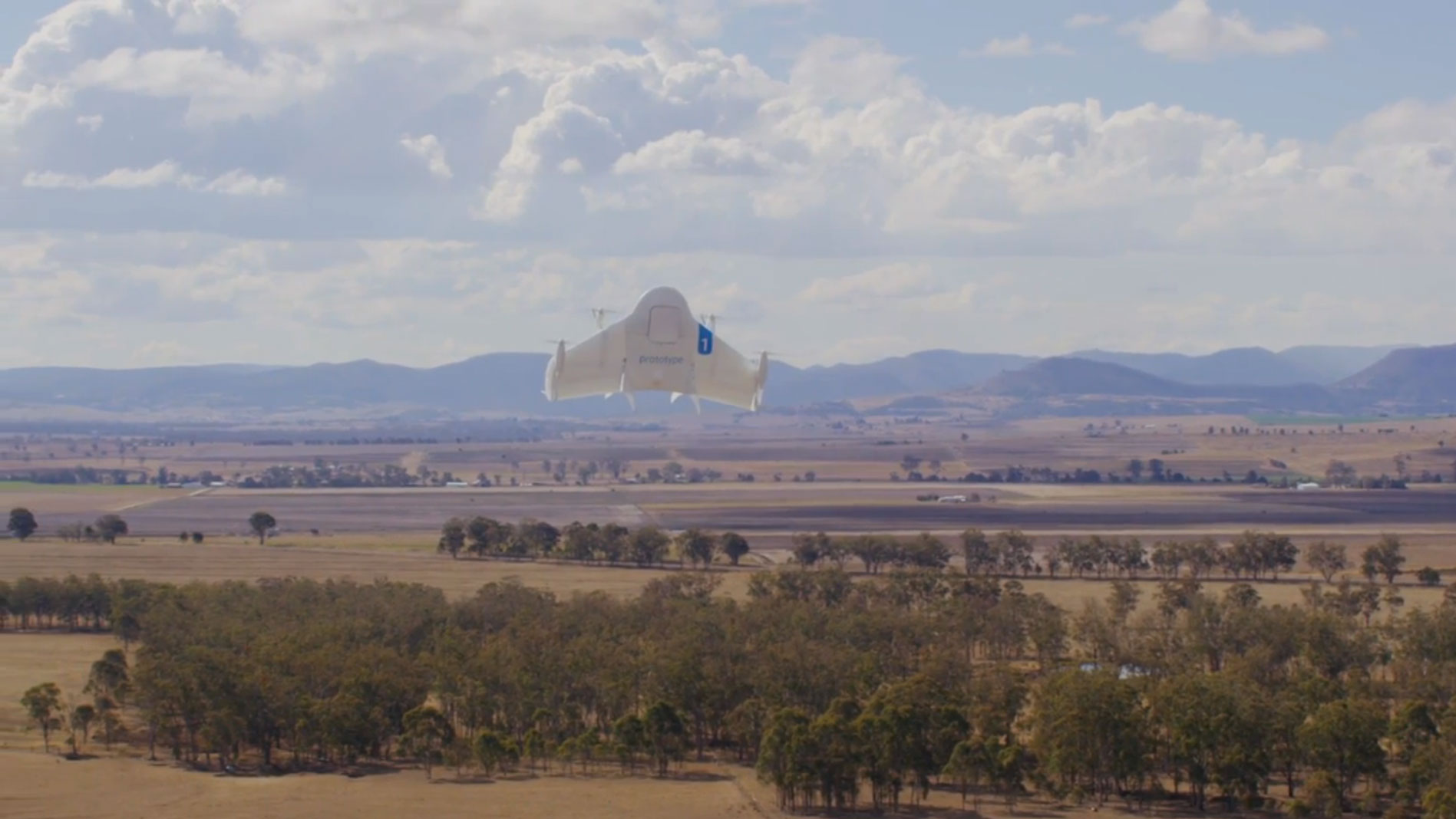 Google's Project Wing drone