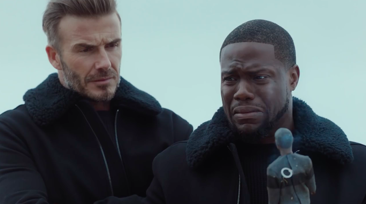 Ad of the Day Kevin Hart and David Beckham Take a Fun Disastrous