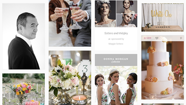 Wedding site lover launches first ad units just in time for donna morgan and more are signed up junglespirit Choice Image