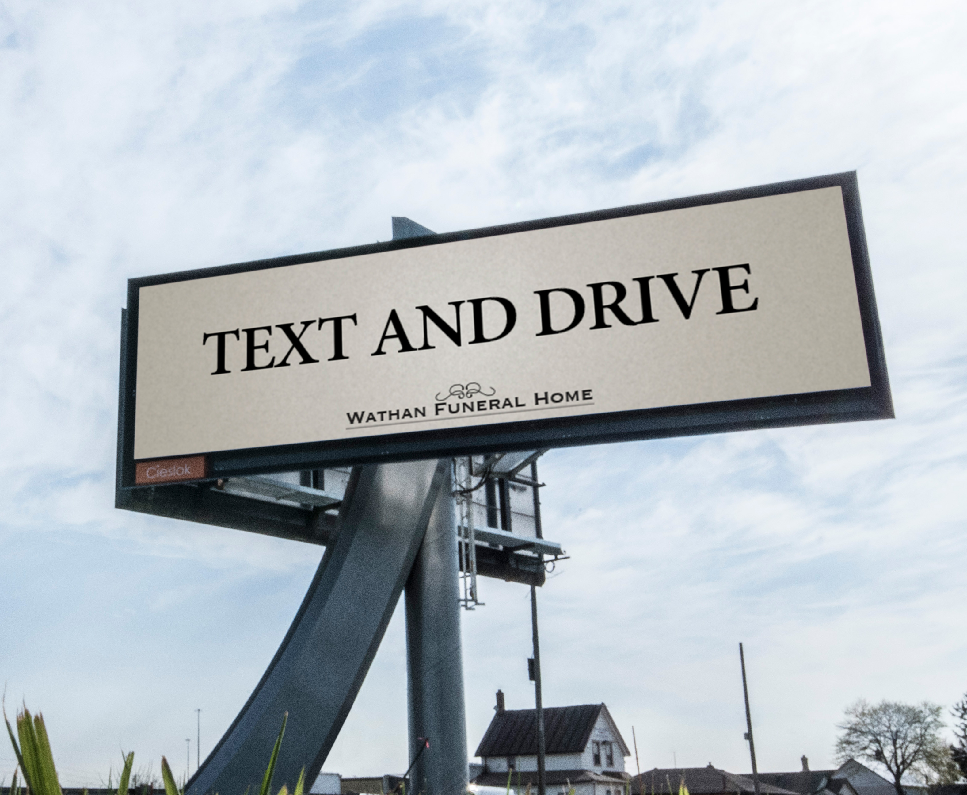 This darkly clever billboard for a funeral home leaves toronto john sts psa in disguise stopboris Images