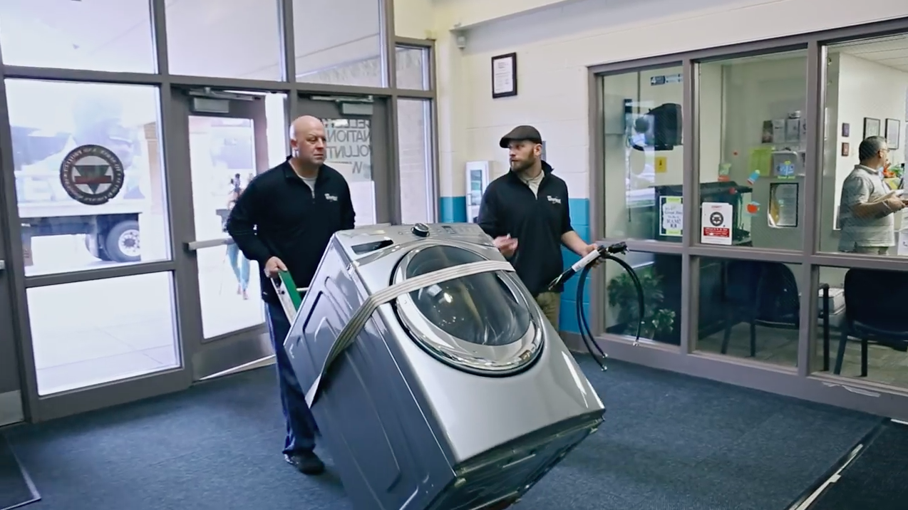 Ad of the Day: Whirlpool Put Washers and Dryers in Schools, With ...