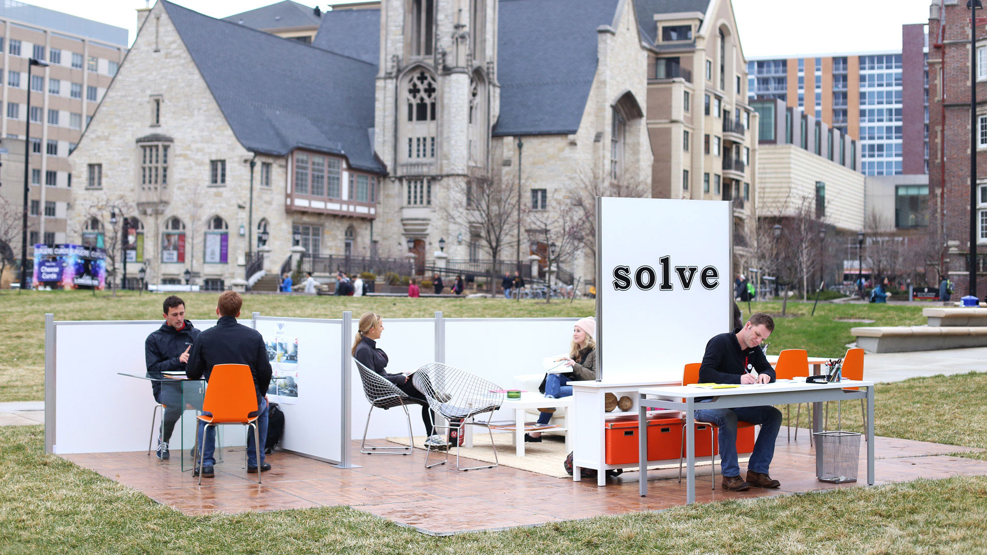 Why This Agency Is Taking a Tiny Version of Itself to College Campuses This Spring